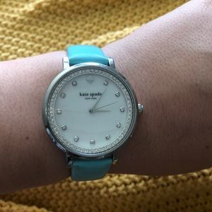 Kate Spade Tiffany Blue Watch